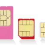 格安SIMのサイズは3種類!やっぱりnanoがお得?