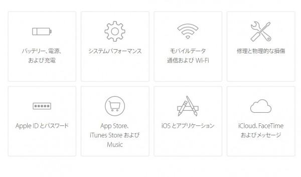 iPhone6s システムサポート